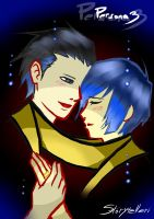 Ryoji and Minato by Storytelleri