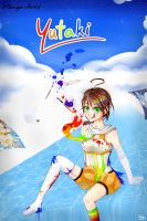 My Colorful Life (Wallscroll Version) by Yutaki