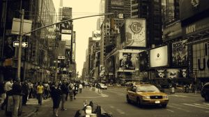 Yellow New York by mpinedag