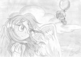 A Lovely Angel by EUAN-THE-ECHIDHOG