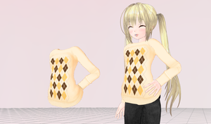 MMD- Cocoa Sweater by Y0K0NI