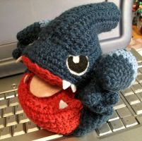 Gible Crochet Plush by First-Mate-Kate