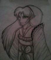 Lord Sesshomaru Sketch by Prepare-Your-Bladder