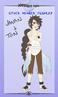 :1001: Member cosplay Janan to Ton by Inupii