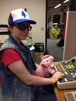 Dipper Closet Cosplay by Tespeon