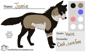 :Jamie:Ref: by NightmareAdoptables