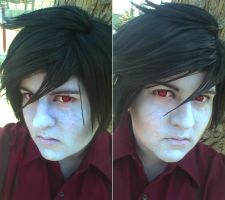 Marshall Lee new make up test by MasonManiac