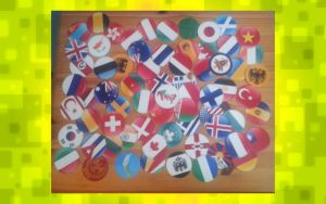 All Round Flag Icons by Hetalia-Papercraft