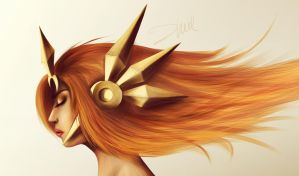 Leona - The Radiant Dawn by zhulikova