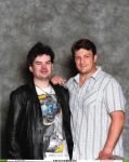 Nathan Fillion Photo Op by PsychoSlaughterman
