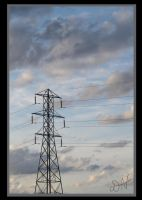 Cloulds and Powerlines by PenguinOfRohan
