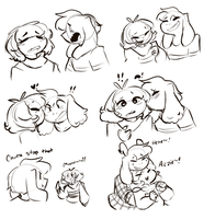 Friskriel stuff by Channydraws