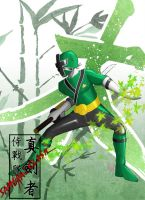 Samurai Green by the-newKid