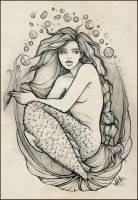 Erin's mermaid final. by kerinewton