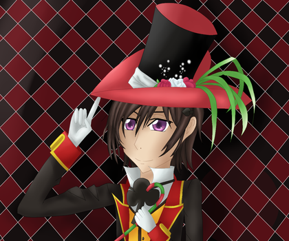 Mad Hatter Lelouch by rani111