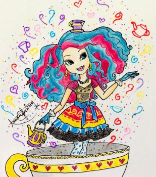 Ever After High : Madeline Hatter by Amana-Jackson