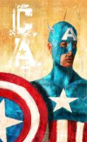 Captain America by dickie0