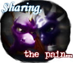 Sharing, the pain... by CynderDragon16