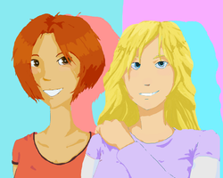 Amy And Sheri by Atata