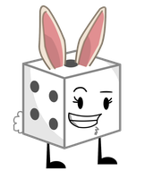 Dice As A Wherebunny Vector by thedrksiren