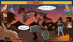 Video Game Fight by BM-Illustrations