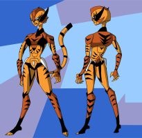 Robo Commission: Tigra by Gryphman
