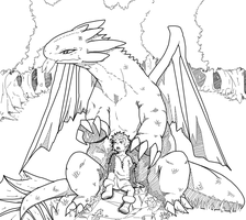 hiccup toothless. by phation