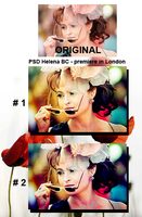 PSD Helena Bonham in London by lore246