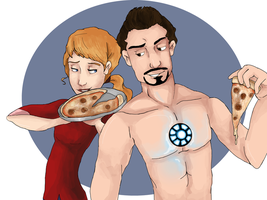 Pepperony with Pepperoni by wolf-pirate55