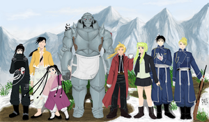 Full Metal Alchemist Brotherhood OTP's by rcxdirectrix