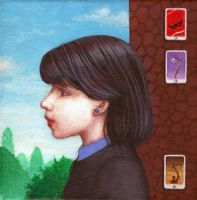 Girl With The Azurite Earring by kolaboy