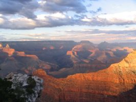 Grand Canyon- Second Sunset by GarnetWings