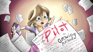 Growing Around Title Card: Pilot by MissyMeghan3