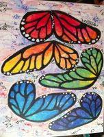 Rainbow Wings by Merwenna