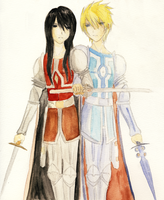 brave knights of vesperia by thestrangechange