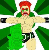 Sheamus Brough Kick by McGreger16