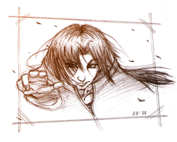 Itachi Sketch by kanazuchi92