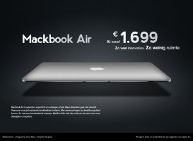 Macbook Air PSD by snicket32