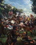 Battling the Hessians: American Revolutionary War by Mitchellnolte