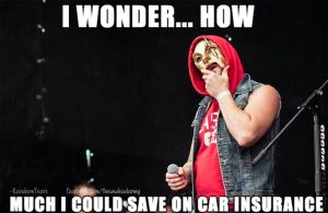 Hollywood Undead- Car Insurance by SaraPukesTheRainbow