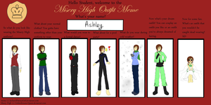 MH: Ashley's Outfit Meme by Kenzeryuu