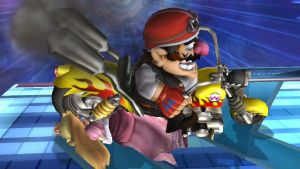 Wario Is Bad To The Bone by EpicBrawlPictures