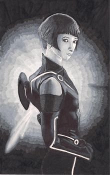 Quorra from TRON by mrteacher57