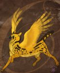 Gryphon Design for Mica by Bailiwick