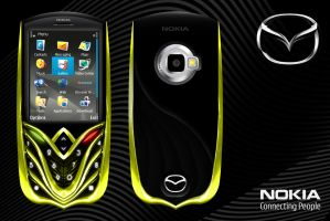 nokia-mazda cellphone concept by criarpo