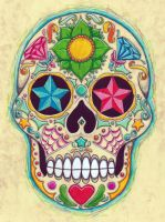sugar skull 2 by koxnas