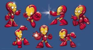 Baby Iron Man by marimoreno