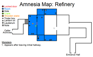Amnesia Map: Refinery by HideTheDecay