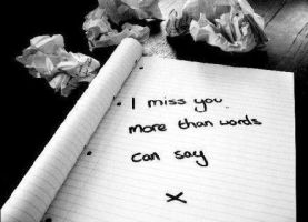 Missing You by HahaaCakes