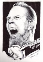 James Hetfield by tyller16